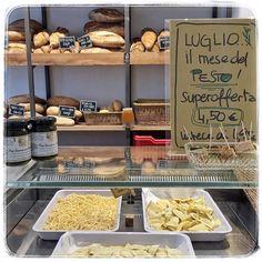 pensiamo noi a tutto  #pastafresca #ravioli #tagliolini a scelta conditi con il #pesto Ferrari in superofferta estate!  #italianstyle #italianfoodporn #italianfood #