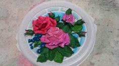 #роза пластилин