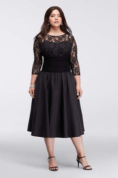 e7a75f637c67b Find the perfect women s plus size dresses at David s Bridal for any  occasion