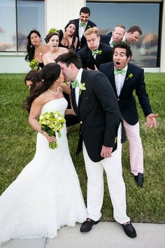 Group Wedding Pose Ricky Stern Photography