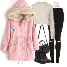 Shop the latest fashion women's Coats at victoriaswing from thoustands styles. your personal style online store! high quality, cheap and big discount, latest fashional style! Coats For Women, Clothes For Women, Estilo Fashion, Latest Fashion For Women, Get Dressed, Winter Coat, New Outfits, Passion For Fashion, Rain Jacket