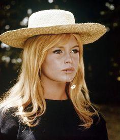 Brigitte Bardot | Straw Hat
