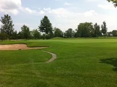Rolling Meadows Hole 16 from near the green