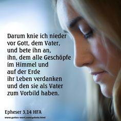 Ephesians 3,14-15 http://www.gottes-wort.com/gebete.html
