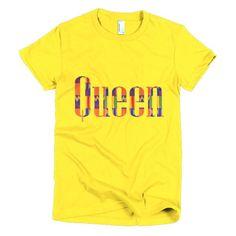 Queen Kente Women's Shirt Queen Kente Women's Shirt #kente #kentecloth #queens #queen #African #tshirt #custom #themoxieshoppe #gotmoxie #queensaremade #fashion