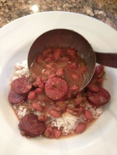 I promise this is the best CROCK POT RED BEANS AND RICE recipe you will ever make!!
