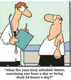 Enough said...no more excuses.  http://HealthandWellnessDigest.com