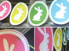 Download this free Bunny Cameo Printable Banner here, and then print onto cardstock.