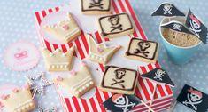 Biscuits princesse et pirate
