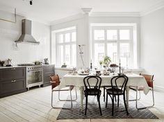 my scandinavian home: The perfect black, white and grey apartment