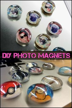 DIY Photo Magnets - A Great Project to do With The Kids Just For Fun