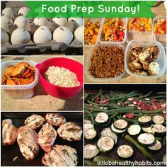 How to prepare for a week of clean eating. This is one of my favorite sites for healthy recipes! I've made. A bunch of her recipes and they always turn out great.