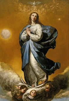 Jusepe de Ribera (Spanish, 1591-1652) - Immaculate Conception, 1637. Columbia Museum of Art, South Carolina