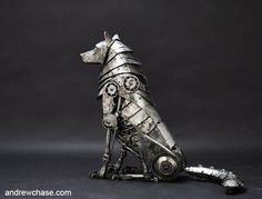 MECHANICAL-WOLF-RUNNING. These are pretty amazing.:
