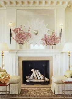 Tucker & Marks - beautiful fireplace mantel and surround