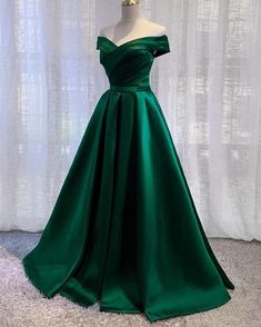 Elegant Cheap On Sale Off Shoulder A Line Satin Formal Prom Gown Evening Party Dresses 2020 Junior Prom Dresses, Grad Dresses, Ball Dresses, Homecoming Dresses, Ball Gowns, Bridesmaid Dresses, Prom Dresses For Teens, Prom Gowns, Pageant Dresses