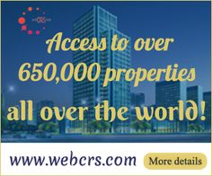 Access to over 650,000 properties all over the world with WebCRS- OTA For more details : www.webcrs.com