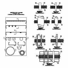 Döşeme veya Duvar Geçiş sisteminde Kablo tavası, kablo ve boru, bakır boru ve izolasyonlu boru geçişleri  konfigürasyonları;  2 saate kadar yangın dayanımlı, 3M FireDam Spray 200 yangın durdurucu detayıdır.  Betonarme Döşeme / Duvar veya Beton Blok Tuğla Duvar içinden geçen, Kablo Tavası / İzoleli Boru / İzolesiz Boru gibi geçiş yapan tesisatların birden fazla adette, çoklu geçiş yaptıkları boşlukların 2 saat F120 yangın dayanımı