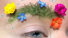 Garden brows are taking the concept of natural beauty to a new level