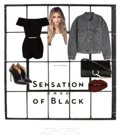"""""""black in style"""" by lindacorp on Polyvore featuring Yeezy by Kanye West, Vision, Chloe Gosselin, Miss Selfridge and Chloé"""