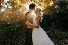 This is the most stunning outdoor engagement photo with the perfect sunlight! Outdoor Engagement Photos, Engagement Photo Poses, Engagement Photo Inspiration, Engagement Photography, Future Love, Marriage Proposals, Fall Photos, Wedding Photos, Flower Girl Dresses