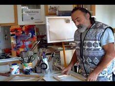 Tutorial omniArtis acquerello carta di Luciano Cavaliere - YouTube
