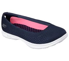 Skechers Go Step Elated Shoes Memory Foam Go Walk Goga Womens Flats Trainers
