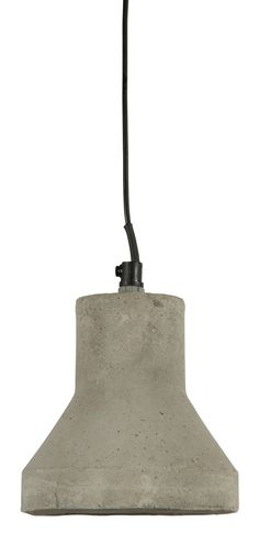 Raw Concrete Pendant Antique Light with Aluminium Canopy   Temple & Webster