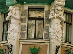 Rīga - Teātra iela. Letonia
