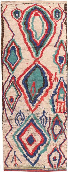 Vintage Moroccan Rug 46515 Main Image - By Nazmiyal