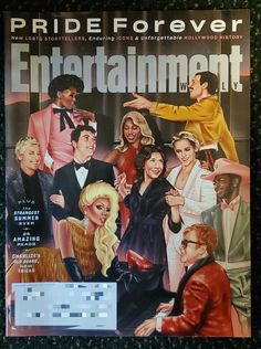 Entertainment Weekly Pride Forever | Mercari Entertainment Weekly, Forever New, New Tricks, Storytelling, Pride, Hollywood, Entertaining, Magazine, History