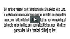 Gynækolog Niels Lund – En arbejdsplads i provinsen