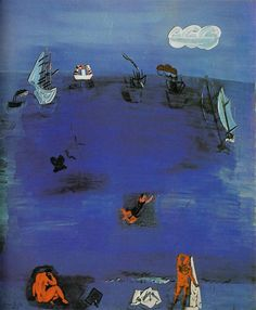 "huariqueje: ""The Mediterranean - Raoul Dufy 1923 Collection Louis S. Gimbel Jr., New York, USA """