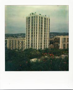 Résidence Consolat - XVème arrondissement #Marseille #Nord #tour #polaroid #coquelicots / www.marseillepolaroid2013.com