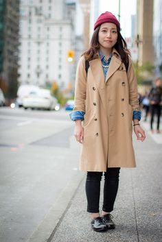 Trench Coat, Vancouver Street Style http://streetscout.me/xrwq
