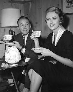Bing Crosby and Mary Fickett, 1957