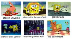 It's funny because k watch all of these shows:)