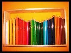 pencil lamp :) DIY