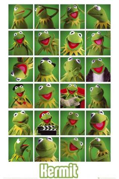 The many looks of Kermit