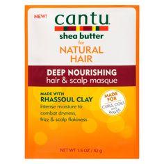 Cantu Nat Rhassoul Clay Deep Nourishing Masque 42g | Free Shipping | LOOKFANTASTIC