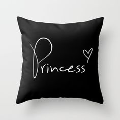 Buy Princess Pillow by RexLambo as a high quality Throw Pillow. Worldwide shipping available at Society6.com. Just one of millions of products available.