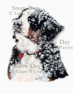 Snow Day! Artist Liane Weyers.