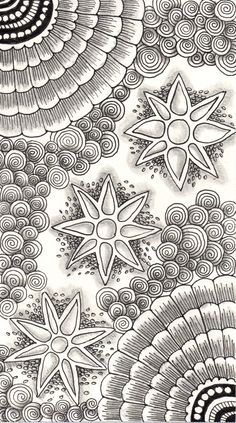 Abstract Doodle Zentangle Paisley Coloring pages colouring adult detailed… Tangle Doodle, Tangle Art, Zen Doodle, Doodle Art, Zentangle Drawings, Doodles Zentangles, Doodle Drawings, Colouring Pages, Adult Coloring Pages