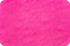 Pink Minky from Shannon Fabrics > Soft Cuddle ® Neon Fuchshia < Smooth Minky by MaximizeYourFabric on Etsy