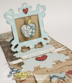 Label and Frame Pop 'n Cuts cards including Video Tutorial   Sizzix Blog