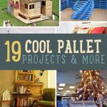 Pallet Furniture DIY Projects Craft Ideas & How Tos for Home Decor with Videos Pallet Crafts, Diy Pallet Projects, Pallet Ideas, Wood Projects, Woodworking Projects, Craft Projects, Diy Crafts, Homemade Crafts, Creative Crafts