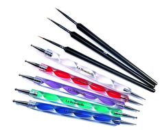 Sable Precision Detailing Brushes and Double Ended Dotting Tools (10 Sizes) * Check out the image by visiting the link.