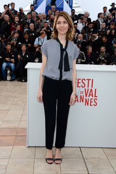See All the Looks from the Endless Red Carpet at Cannes: Sofia Coppola in Louis Vuitton