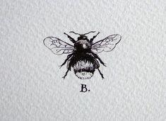 bee tattoo - Google Search