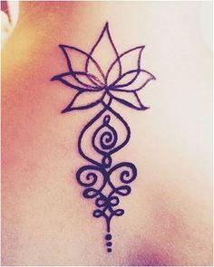 Bildergebnis für unalome tattoo bedeutung - Tattoos - Tattoo Designs for Women Back Tattoos, Mini Tattoos, Flower Tattoos, Body Art Tattoos, Small Tattoos, Tatoos, Buddha Tattoos, Sleeve Tattoos, Unalome Tattoo